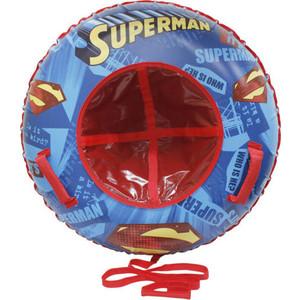 Тюбинг 1Toy WB SUPERMAN 100 см с буксировочным тросом