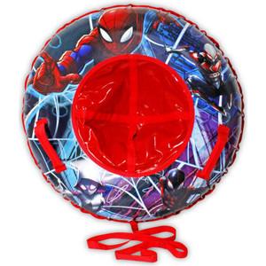 Тюбинг MARVEL Человек-Паук 85 см с буксировочным тросом