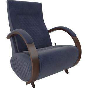 Кресло-глайдер Мебель Импэкс Balance 3 орех/ Verona denim blue