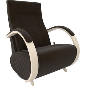 Кресло-глайдер Мебель Импэкс Balance 3 дуб шампань/ Verona wenge