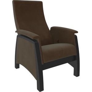 Кресло-глайдер Мебель Импэкс Модель 101 ст венге, ткань Verona brown пуф глайдер мебель импэкс пуф глайдер модель 103