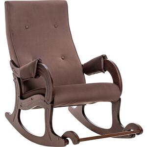 Кресло-качалка Мебель Импэкс Модель 707 орех антик, ткань Verona brown фото