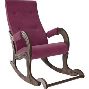 Кресло-качалка Мебель Импэкс Модель 707 орех антик, ткань Verona cyklam фото
