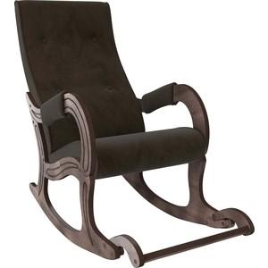 Кресло-качалка Мебель Импэкс Модель 707 орех антик, ткань Verona wenge фото