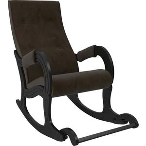 цена на Кресло-качалка Мебель Импэкс Модель 707 венге, ткань Verona wenge