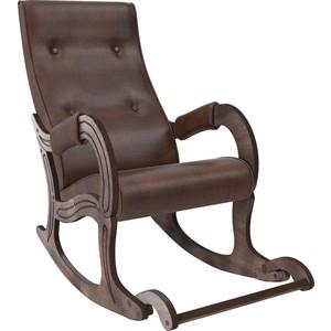 Кресло-качалка Мебель Импэкс Модель 707 орех антик, к/з antik crocodile фото