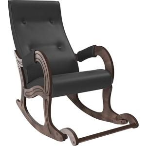 Кресло-качалка Мебель Импэкс Модель 707 орех антик, к/з Dundi 109 фото