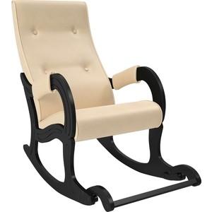Кресло-качалка Мебель Импэкс Модель 707 венге, к/з Polaris Beige
