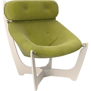 Кресло для отдыха Мебель Импэкс Модель 11 дуб шампань, ткань Verona apple green