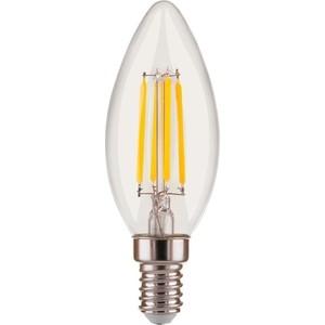 Лампа светодиодная филаментная Elektrostandard 4690389140990 elektrostandard лампа светодиодная elektrostandard полусфера матовая e14 7w 3300k 4690389088087