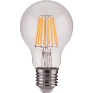 Лампа светодиодная филаментная Elektrostandard 4690389141157 elektrostandard лампа светодиодная elektrostandard полусфера матовая e14 7w 3300k 4690389088087