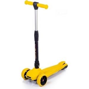 Самокат Mobile Kid PRACTICO-YELLOW- желтый