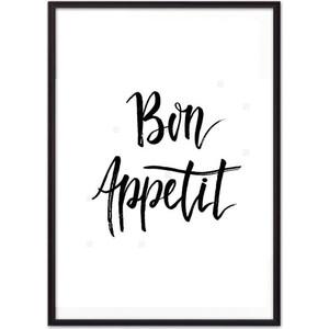 цена на Постер в рамке Дом Корлеоне Bon appetit 30x40 см