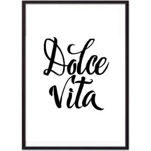 Постер в рамке Дом Корлеоне Dolce vita 30x40 см
