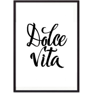 Постер в рамке Дом Корлеоне Dolce vita 50x70 см