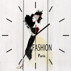 Настенные часы Дом Корлеоне Fashion 40x40 см