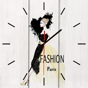 Настенные часы Дом Корлеоне Fashion 50x50 см