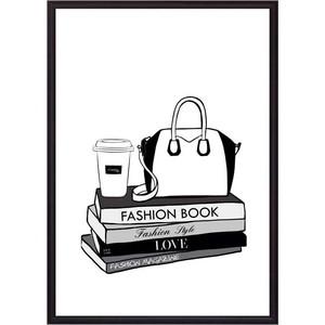 Постер в рамке Дом Корлеоне Fashion book 21x30 см