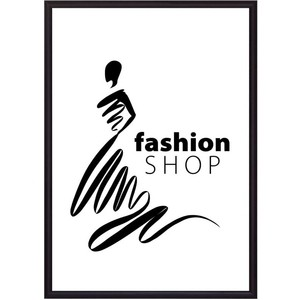 Постер в рамке Дом Корлеоне Fashion shop 40x60 см