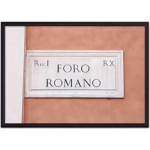 Постер в рамке Дом Корлеоне Foro Romano 40x60 см фото