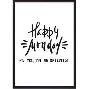 Постер в рамке Дом Корлеоне Happy Monday 40x60 см