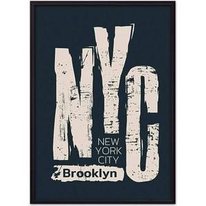 Постер в рамке Дом Корлеоне NYC 40x60 см фото