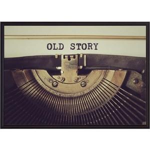 Постер в рамке Дом Корлеоне Old story 50x70 см
