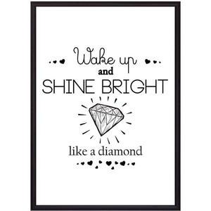 Постер в рамке Дом Корлеоне Shine bright! 50x70 см