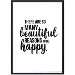 Постер в рамке Дом Корлеоне To be happy 30x40 см фото