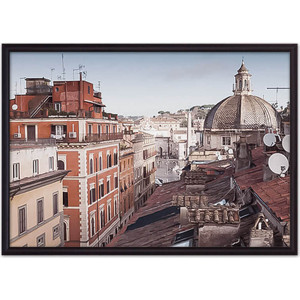 Постер в рамке Дом Корлеоне Via del Corso Рим 30x40 см