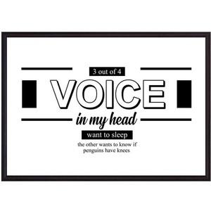 Постер в рамке Дом Корлеоне Voice 50x70 см