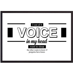 Постер в рамке Дом Корлеоне Voice 40x60 см