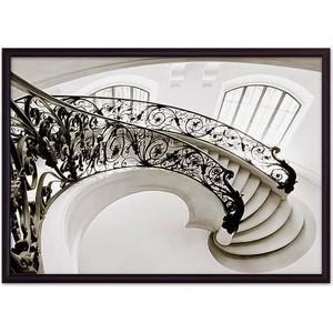 Постер в рамке Дом Корлеоне Ажурная лестница 30x40 см