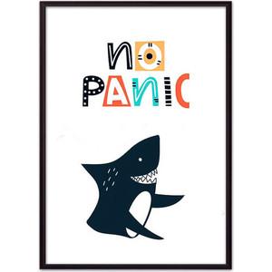 Постер в рамке Дом Корлеоне Акула No panic 21x30 см