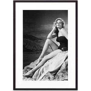 Постер в рамке Дом Корлеоне Анита Экберг 30x40 см модена клаудио джузеппе и анита гарибальди история любви и сражений