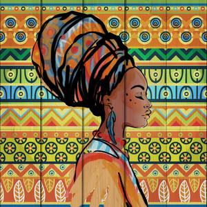 Картина на дереве Дом Корлеоне Африканка 40x40 см картина на дереве дом корлеоне гараж 40x40 см