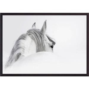 Постер в рамке Дом Корлеоне Белая лошадь 30x40 см