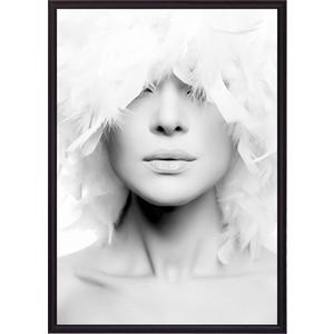 Постер в рамке Дом Корлеоне Белые перья 21x30 см постер в рамке дом корлеоне белые перья 50x70 см