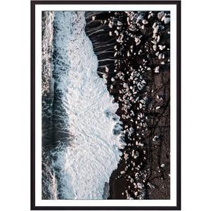 Постер в рамке Дом Корлеоне Берег с высоты 40x60 см фото