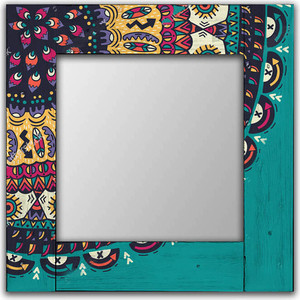 цена на Настенное зеркало Дом Корлеоне Берне 90x90 см