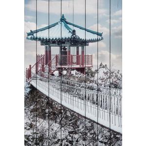 Картина на дереве Дом Корлеоне Беседка горе 120x180 см