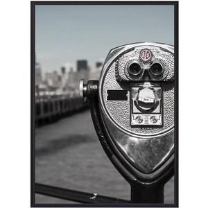 Постер в рамке Дом Корлеоне Бинокль New York 21x30 см