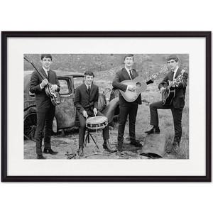 Постер в рамке Дом Корлеоне Битлз 30x40 см
