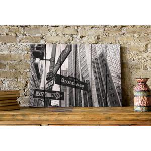 Картина на дереве Дом Корлеоне Бродвей 80x120 см