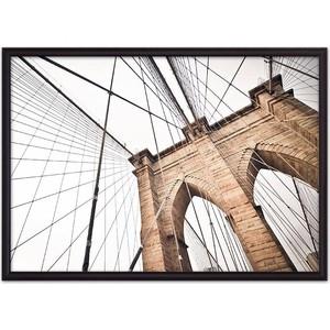 Постер в рамке Дом Корлеоне Бруклинский мост 30x40 см