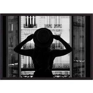 Постер в рамке Дом Корлеоне В Париже 30x40 см