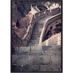 Постер в рамке Дом Корлеоне Великая стена 30x40 см панно великая стена 3пр pannorama панно великая стена 3пр