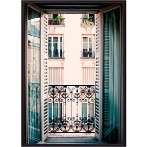 Постер в рамке Дом Корлеоне Вид из окна Париж 50x70 см фото