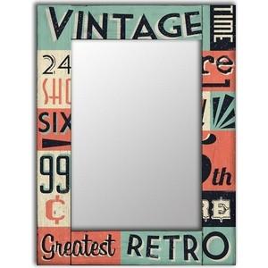 Настенное зеркало Дом Корлеоне Винтаж 90x90 см