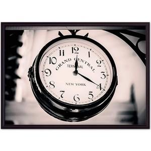 Постер в рамке Дом Корлеоне Винтажные часы 30x40 см фото